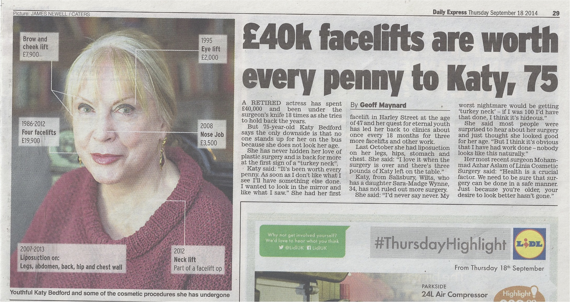 Facelifts are worth every penny in the Express