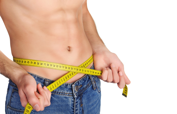 flat stomach man abdominoplasty